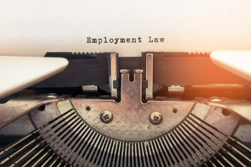 Employment Law Changes 2020