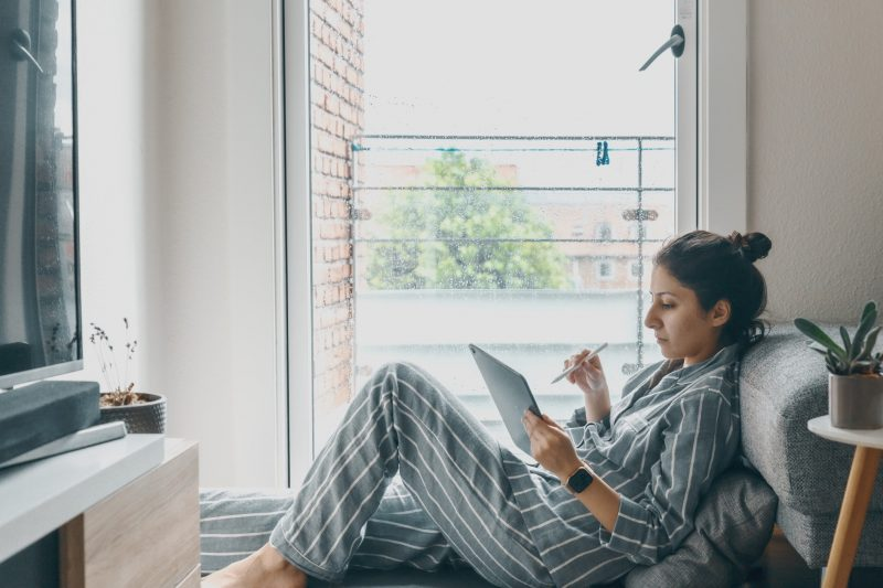 Self isolate and work from home