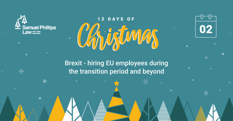 Brexit - hiring EU employees during the transition period and beyond