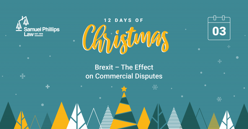 Brexit - the effect on commercial disputes