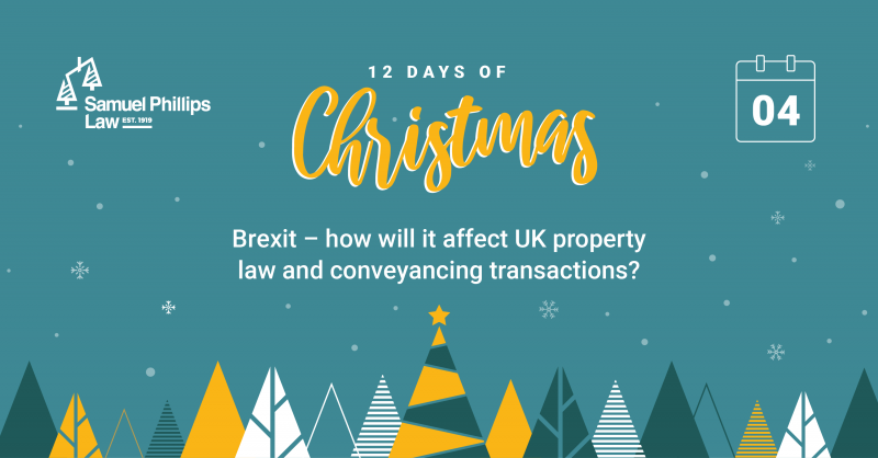 Brexit – how will it affect UK property law and conveyancing transactions?
