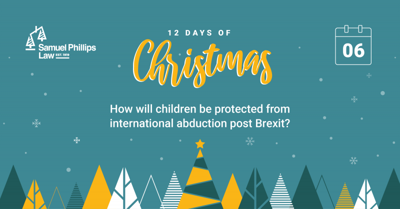 How will children be protected from international abduction post Brexit?