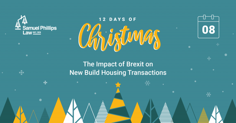The Impact of Brexit on New Build Housing Transactions