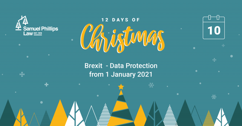 Brexit - Data Protection from 1 January 2021